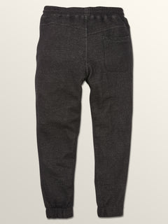 Coder Fleece Pants In Black, Fourth Alternate View