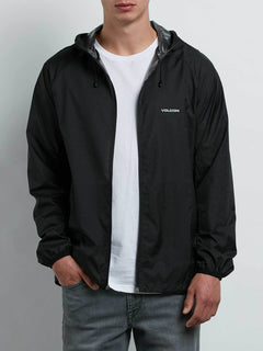 Stone Lite Jacket In Black, Alternate View