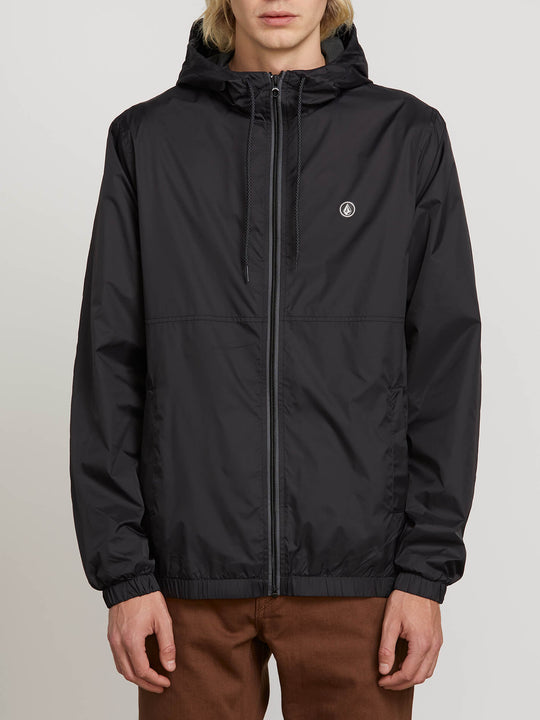 Ermont Jacket In Black, Front View