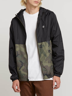 Ermont Jacket In Camouflage, Alternate View