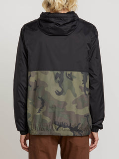 Ermont Jacket In Camouflage, Back View