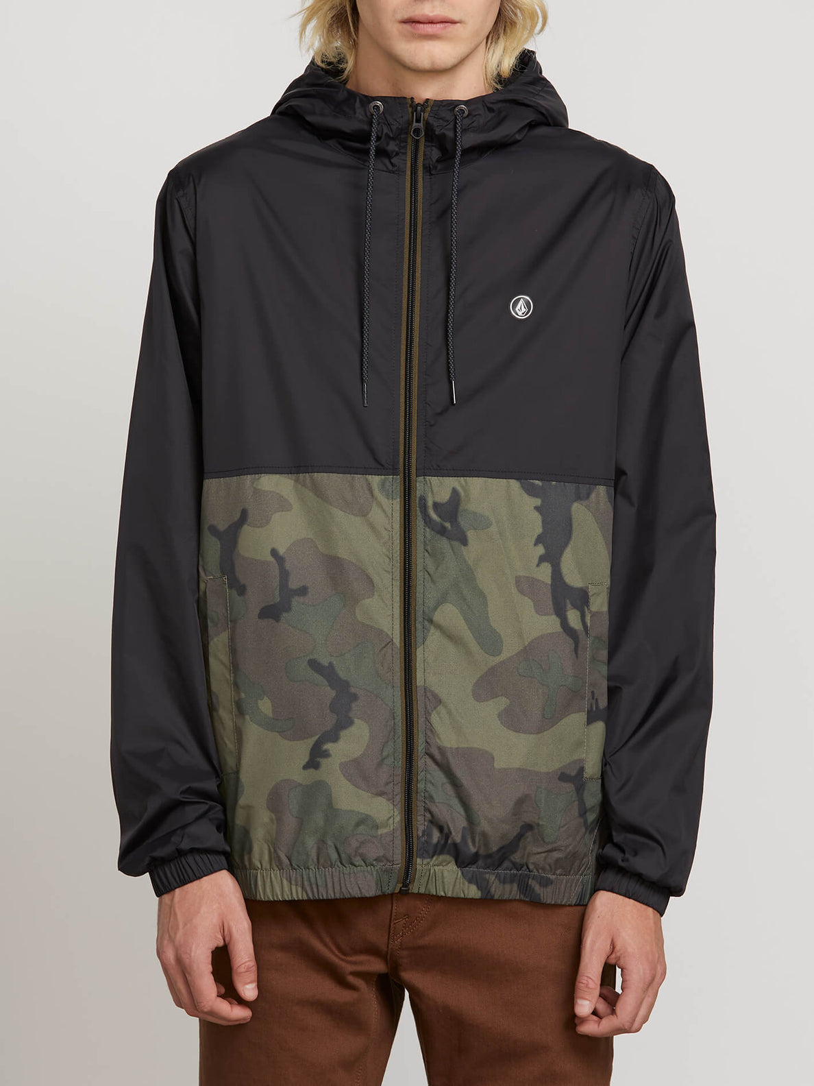 Ermont Jacket In Camouflage, Front View