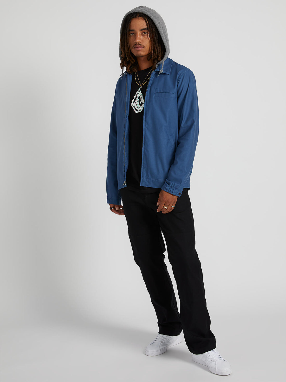 Warren Jacket - Smokey Blue (A1531700_SMB) [03]