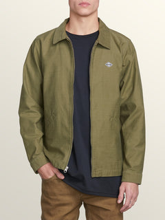 Burkey Jacket In Vineyard Green, Alternate View
