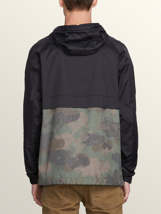 Fezzes Jacket In Camouflage, Back View
