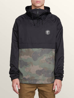 Fezzes Jacket In Camouflage, Front View