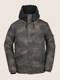 Morzinski Jacket In Camouflage, Front View