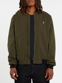 Volcom X Girl Skateboards Jacket - Brolive (A1632000_BLV) [1]
