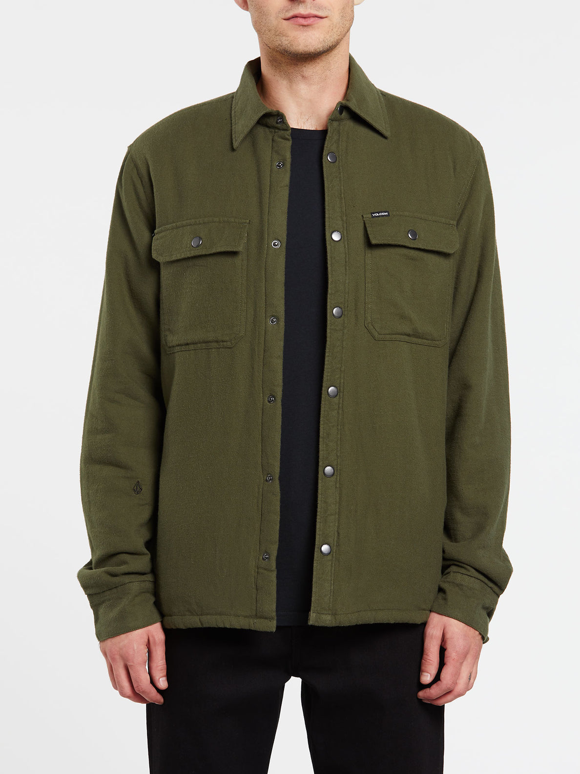 Larkin Jacket - Military (A1632002_MIL) [1]