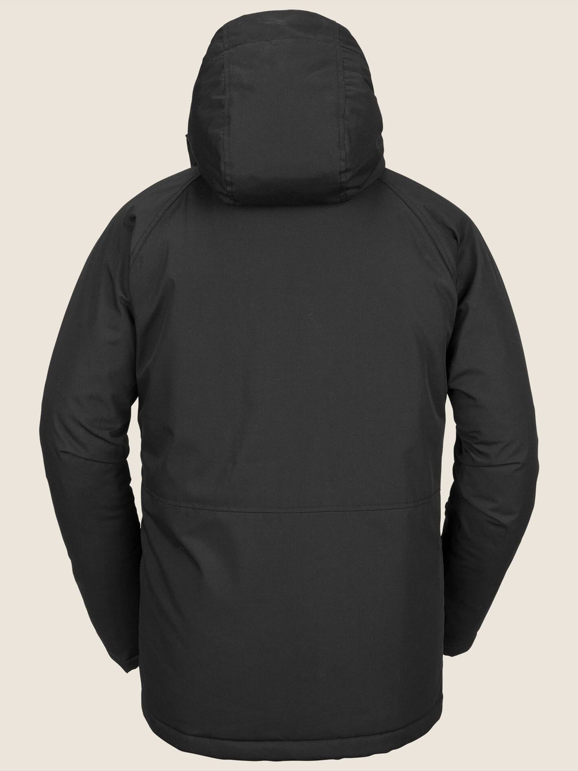 Renton Winter Parka In Black, Back View
