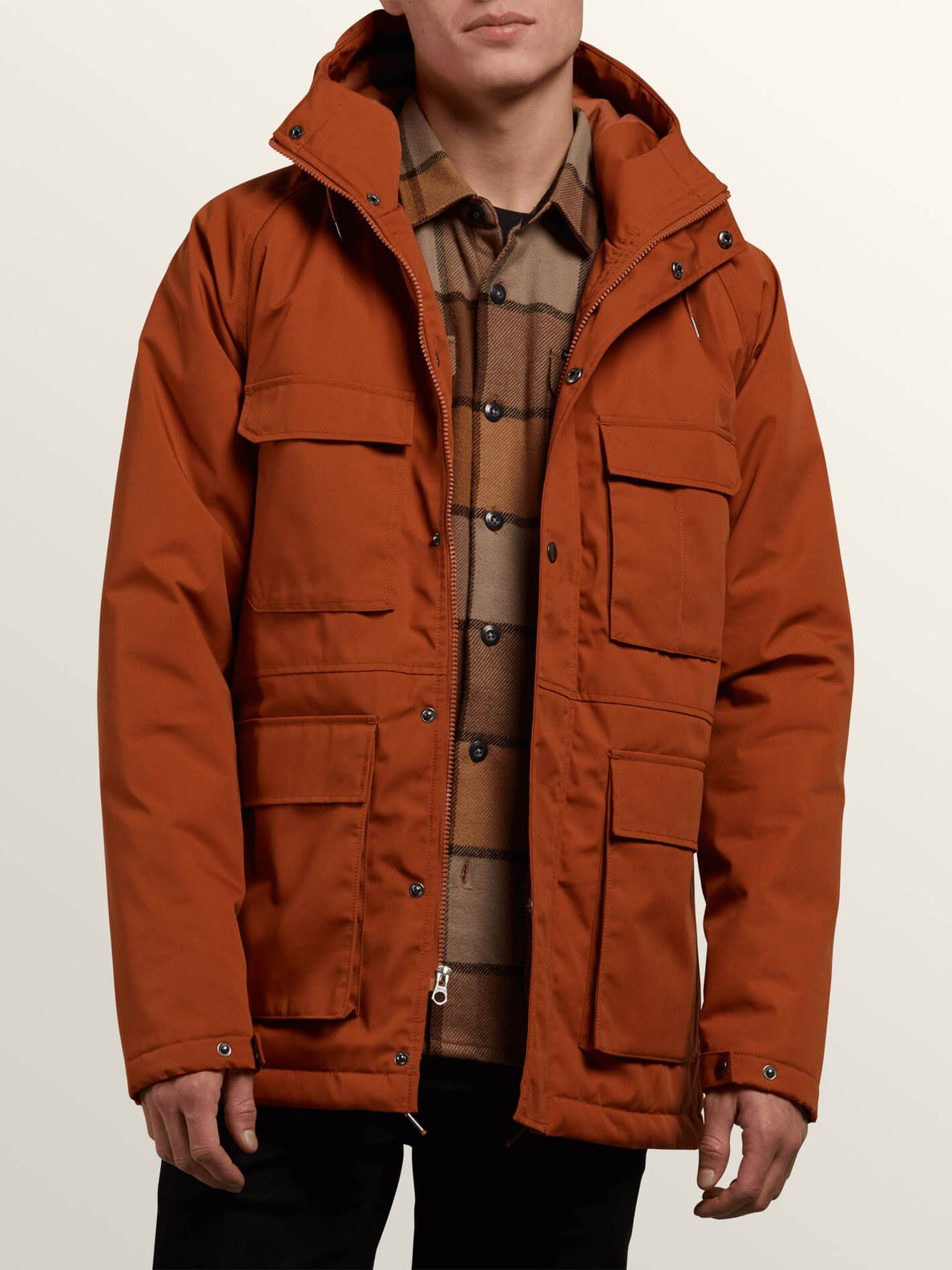 Renton Winter Parka In Hazelnut, Alternate View