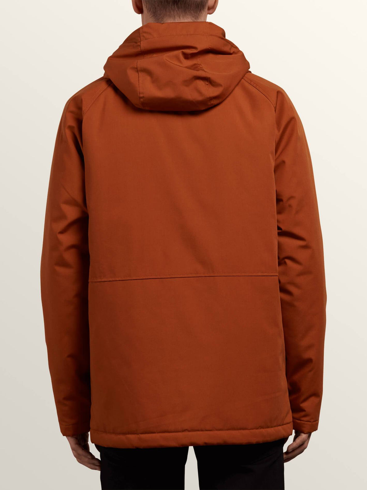 Renton Winter Parka In Hazelnut, Back View