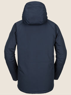 Renton Winter Parka In Navy, Back View