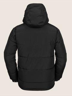 Artic Loon Jacket In Black, Back View