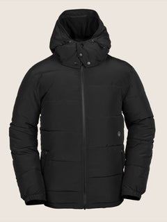 Artic Loon Jacket In Black, Front View
