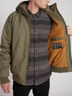 Hernan 5K Jacket - Army Green Combo (A1731900_ARC) [2]