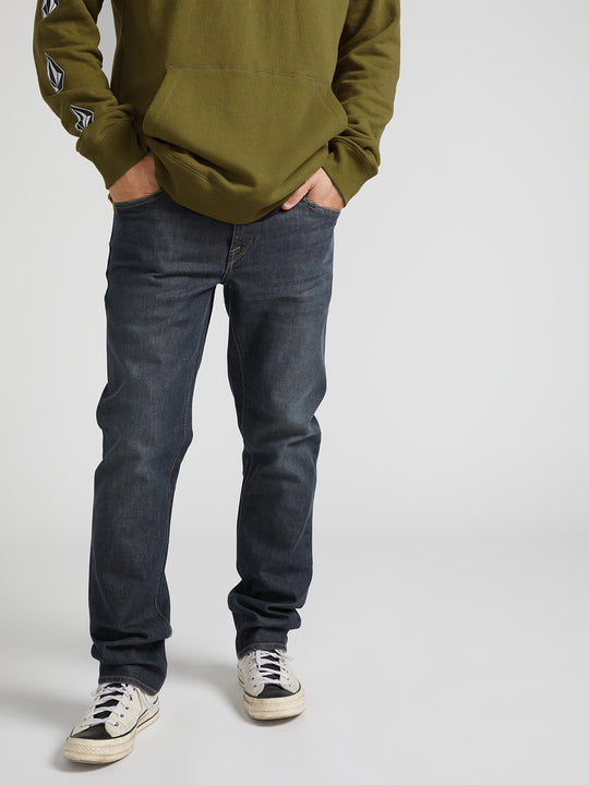 Vorta Slim Fit Jeans - Bullet Grey Wash (A1931501_BGW) [02]