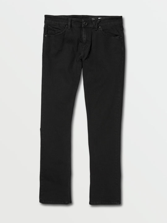 Vorta Slim Fit Jeans In Blackout, Front View