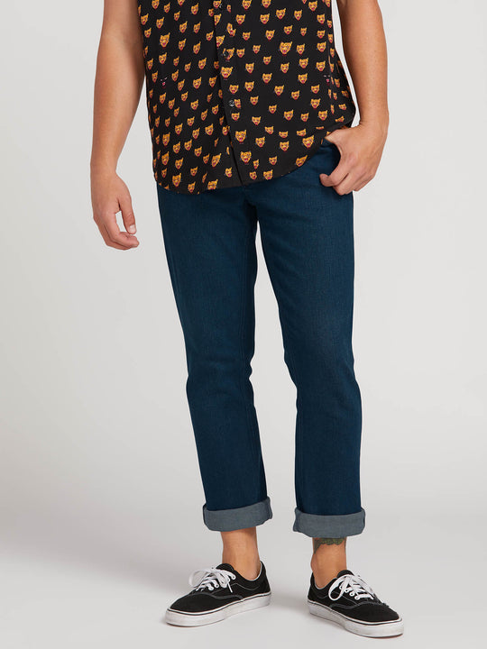 Vorta Slim Fit Jeans - Blue Ozone