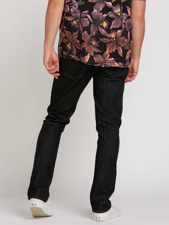 Vorta Slim Fit Jeans - Black Rinser