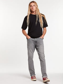 Vorta Slim Fit Jeans - Mono Grey (A1931501_MON) [32]