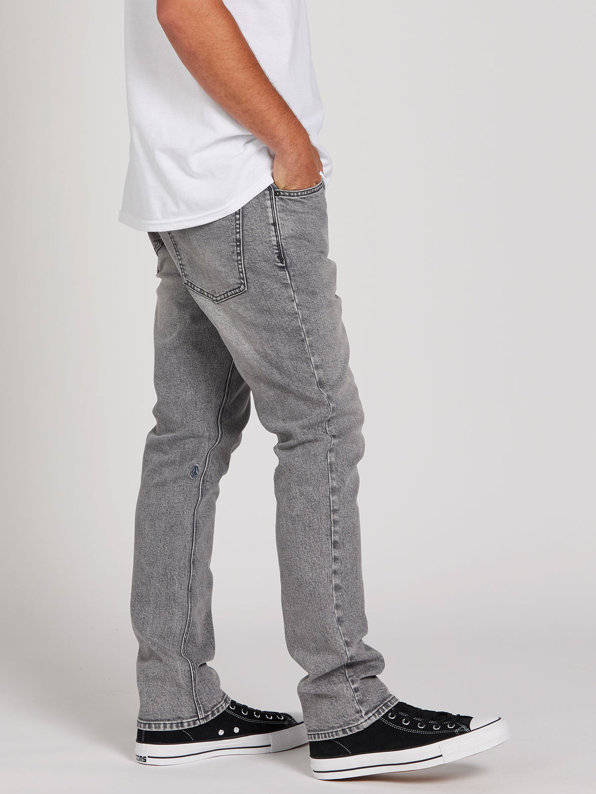 Vorta Slim Fit Jeans - Mono Grey (A1931501_MON) [3]