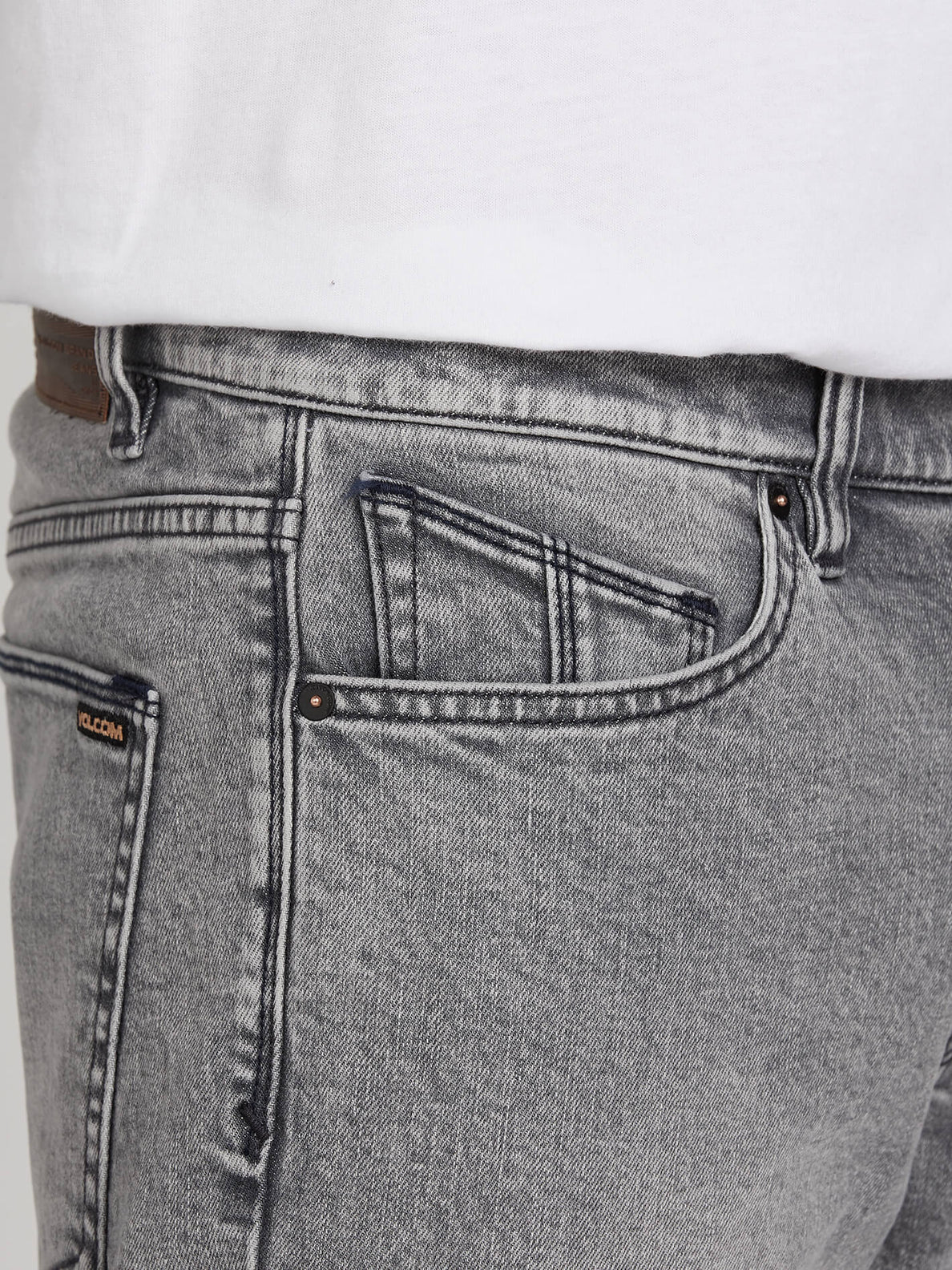 Vorta Slim Fit Jeans - Mono Grey (A1931501_MON) [5]