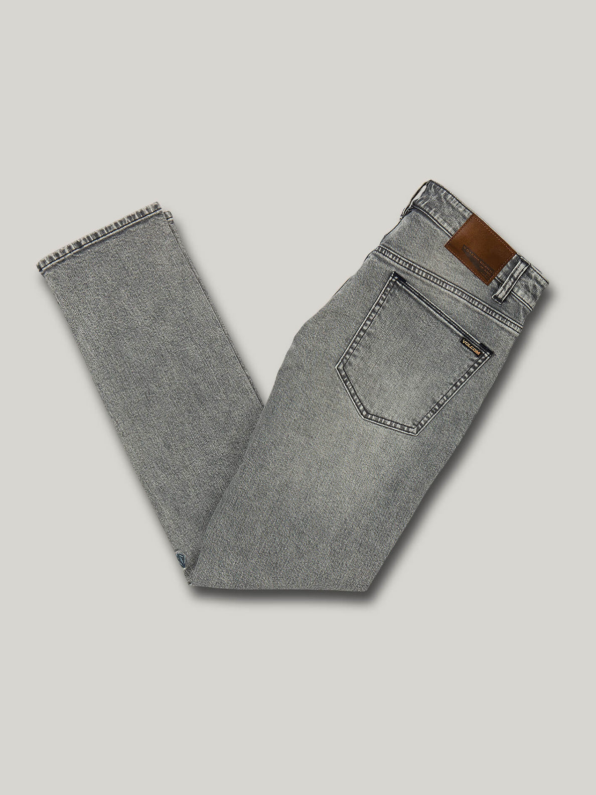 Vorta Slim Fit Jeans - Mono Grey (A1931501_MON) [B]