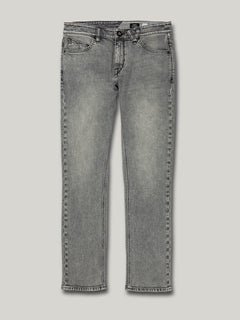 Vorta Slim Fit Jeans - Mono Grey (A1931501_MON) [F]
