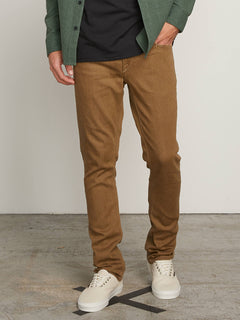 Vorta Slim Fit Jeans In Wet Sand, Front View
