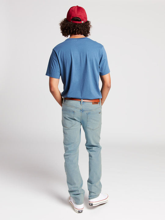 Solver Modern Fit Jeans In Allover Stone Light, Alternate View