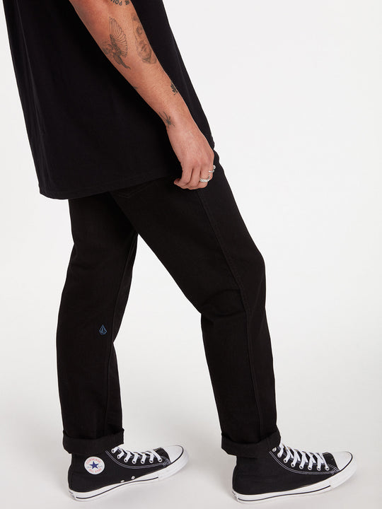 Solver Modern Fit Jeans - Black On Black (A1931503_BKB) [21]