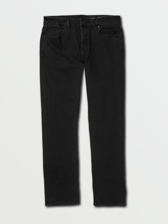 Solver Modern Fit Jeans In Blackout, Front View