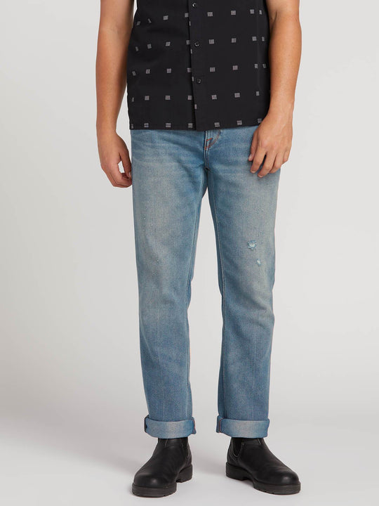 Solver Modern Fit Jeans In Cruzer Blue, Front View