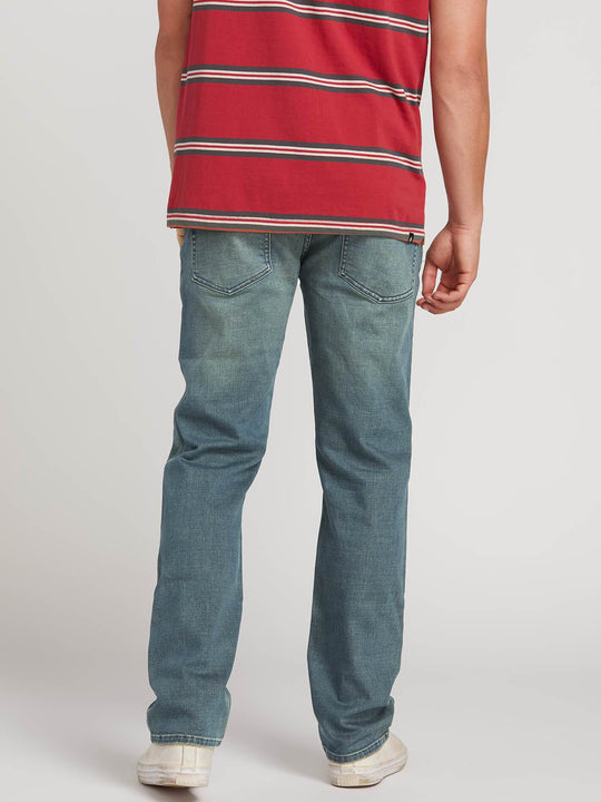 Solver Modern Fit Jeans In Dirt Track, Back View