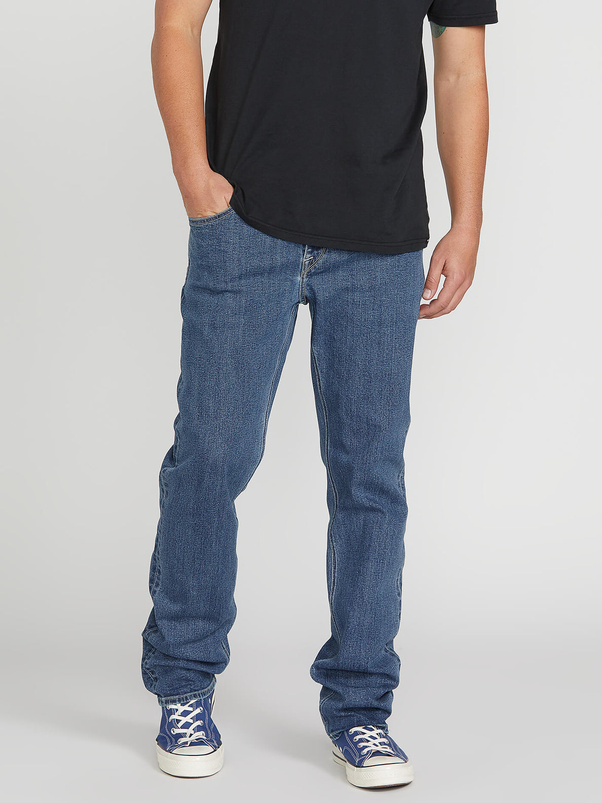 Solver Modern Fit Jeans - Easy Enzyme Medium (A1931503_EEM) [1]