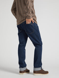 Solver Modern Fit Jeans - Enzyme Dark Wash (A1931503_EZD) [02]