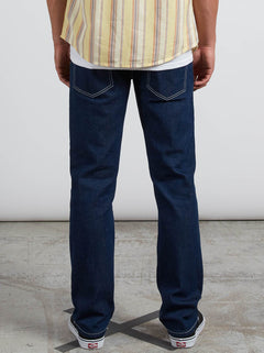 Solver Modern Fit Jeans In Indigo Ridge, Back View