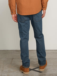 Solver Modern Fit Jeans In Blue Relic, Back View