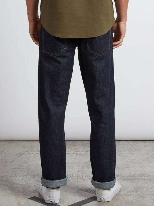 Solver Modern Fit Jeans In S Gene Selvedge, Back View
