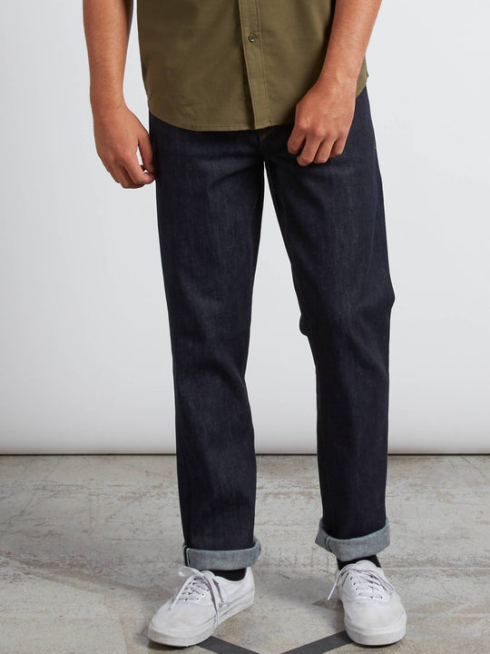Solver Modern Fit Jeans In S Gene Selvedge, Front View