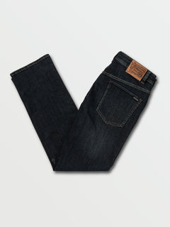 Solver Modern Fit Jeans In Vintage Blue, Back View
