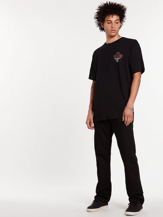Kinkade Regular Fit Jeans - Black On Black (A1931506_BKB) [15]