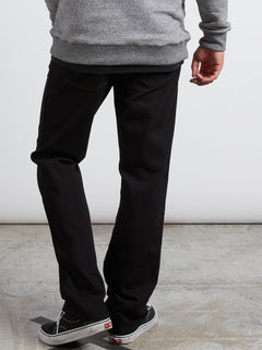 Kinkade Regular Fit Jeans In Blackout, Back View