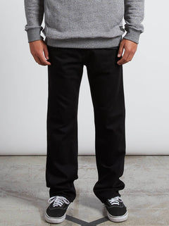 Kinkade Regular Fit Jeans In Blackout, Front View