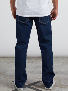 Kinkade Regular Fit Jeans In Indigo Ridge, Back View