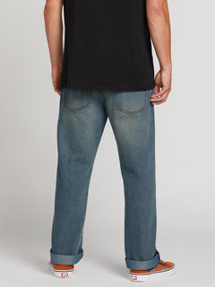 Kinkade Regular Fit Jeans In Road Sky, Back View