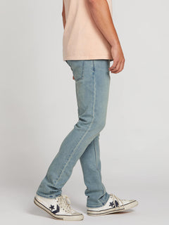 2X4 Skinny Fit Jeans In Blue Fog, Alternate View