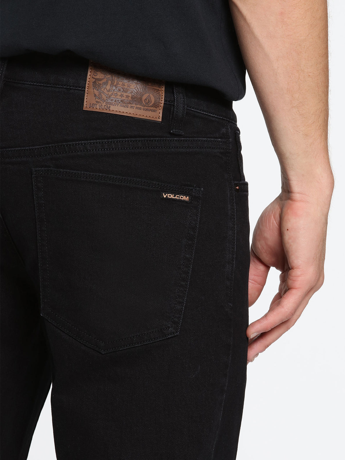 2X4 Skinny Fit Jeans - Black Out (A1931510_BKO) [4]