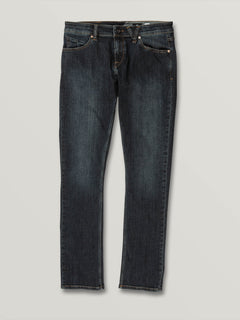 2X4 Skinny Fit Jeans In Vintage Blue, Front View